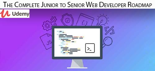 27 - دانلود Udemy The Complete Junior to Senior Web Developer Roadmap آموزش کامل مقدماتی تا پیشرفته توسعه وب