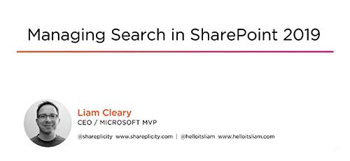 3 34 - دانلود Pluralsight Managing Search in SharePoint 2019 آموزش مدیریت جستجو در شرپوینت 2019