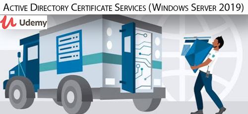 32 - دانلود Udemy Active Directory Certificate Services (Windows Server 2019) - آموزش مدرک اکتیو دایرکتوری در ویندوز سرور 2019