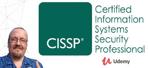 38 - دانلود Udemy CISSP Certification: CISSP Domain Video Boot Camp 2020 Tutorial Series آموزش آموزش دوره امنیت شبکه، مدرک سی آی اس اس پی - دامنه 1 تا 8