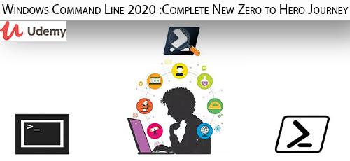 5 33 - دانلود Udemy Windows Command Line 2020 :Complete New Zero to Hero Journey آموزش کامل خط فرمان ویندوز