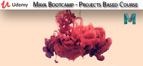 16 - دانلود Udemy Maya Bootcamp - Projects Based Course آموزش پروژه های مایا