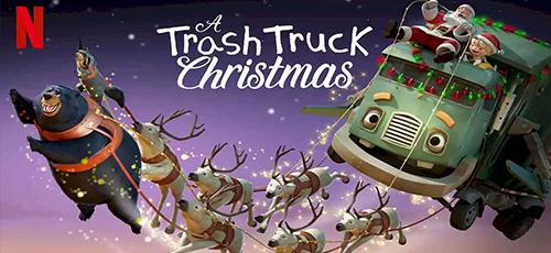2 84 - دانلود انیمیشن A Trash Truck Christmas 2020 با زیرنویس فارسی