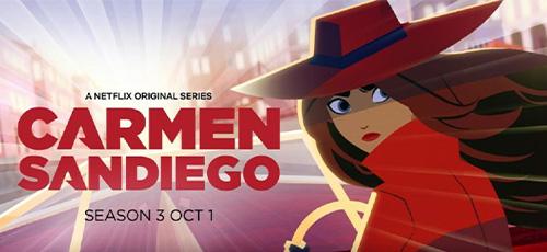 1 62 - دانلود انیمیشن Carmen Sandiego 2020 فصل سوم با زیرنویس فارسی