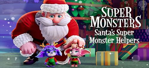 2 26 - دانلود انیمیشن Santa's Super Monster Helpers 2020 دوبله فارسی