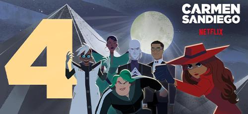 4 20 - دانلود انیمیشن Carmen Sandiego 2021 فصل چهارم با زیرنویس فارسی