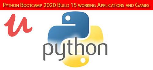 5 14 - دانلود Udemy Python Bootcamp 2020 Build 15 working Applications and Games آموزش ساخت 15 اپ و بازی با پایتون