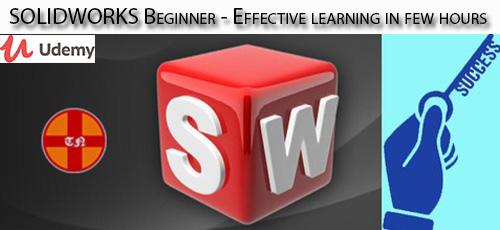 11 - دانلود Udemy SOLIDWORKS Beginner - Effective learning in few hours آموزش مقدماتی و کاربردی سالیدورکس