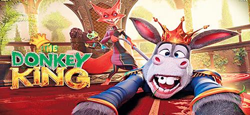 2 12 - دانلود انیمیشن The Donkey King 2020 با دوبله فارسی