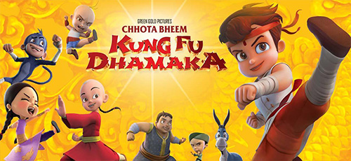 2 23 - دانلود انیمیشن Chhota Bheem Kung Fu Dhamaka 2019