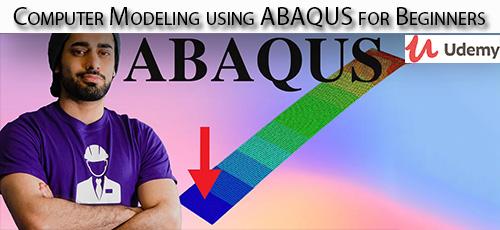 12 - دانلود Udemy Computer Modeling using ABAQUS for Beginners آموزش مقدماتی مدلسازی کامپیوتری با آباکوس