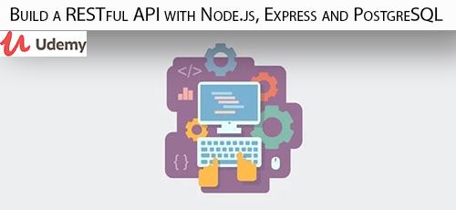 7 35 - دانلود Udemy Build a RESTful API with Node.js, Express and PostgreSQL آموزش ساخت ای پی آی های رست فول با نود، اکسپرس و پستگرسکیوال