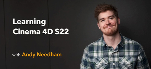 10 - دانلود Lynda Learning Cinema 4D S22 آموزش سینما فوردی اس 22