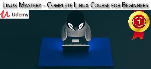 12 - دانلود Udemy Linux Mastery - Complete Linux Course for Beginners آموزش کامل مقدماتی لینوکس