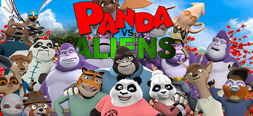 2 51 - دانلود انیمیشن Panda vs Aliens 2021 زیرنویس فارسی
