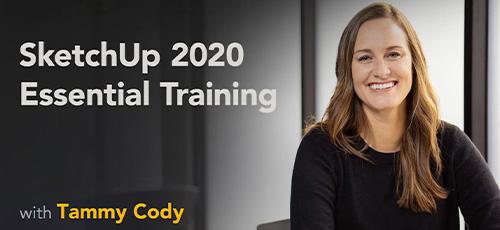 2 9 - دانلود Lynda SketchUp 2020 Essential Training آموزش نرم افزار اسکچ آپ 2020