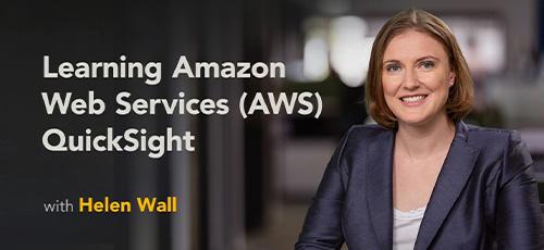 Udemy - دانلود Lynda Learning Amazon Web Services (AWS) QuickSight آموزش وب سریع وب سرویس های آمازون