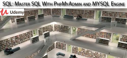 1 23 - دانلود Udemy SQL: Master SQL With PhpMyAdmin and MYSQL Engine آموزش تسلط بر اس کیو ال با پی اچ پی مای ادمین و مای اس کیو ال