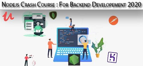 1 25 - دانلود Udemy Nodejs Crash Course : For Backend Developement 2020 آموزش توسعه نود جی اس برای بک اند
