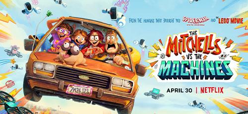 1 3 - دانلود انیمیشن The Mitchells vs the Machines 2021 میچل ها در برابر ماشین ها با 2 دوبله فارسی