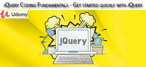 1 65 - دانلود Udemy jQuery Coding Fundamentals - Get started quickly with jQuery آموزش اصول و مبانی جی کوئری