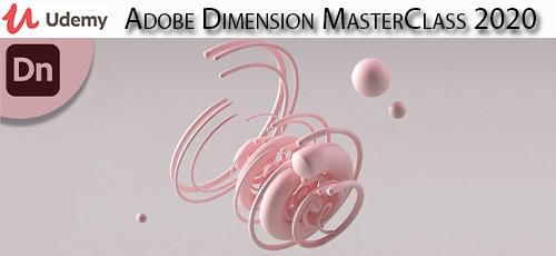 16 - دانلود Udemy Adobe Dimension MasterClass 2020 آموزش ادوبی دایمنشن 2020