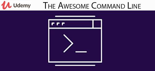 18 - دانلود Udemy The Awesome Command Line آموزش خط فرمان لینوکس و مک