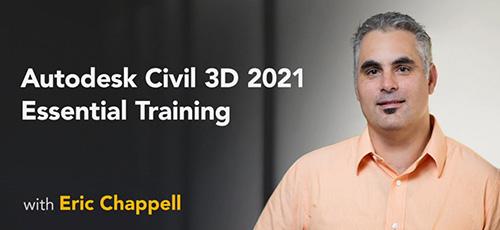 19 - دانلود Lynda Autodesk Civil 3D 2021 Essential Training آموزش اتوکد سیویل تری دی 2021