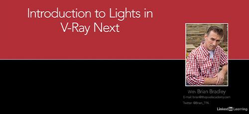 2 47 - دانلود Lynda Introduction to Lights in V-Ray Next آموزش مقدماتی نورپردازی در وی ری نکست