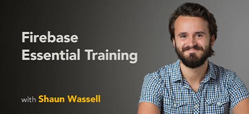 23 - دانلود Lynda Firebase Essential Training آموزش دیتابیس فایربیس
