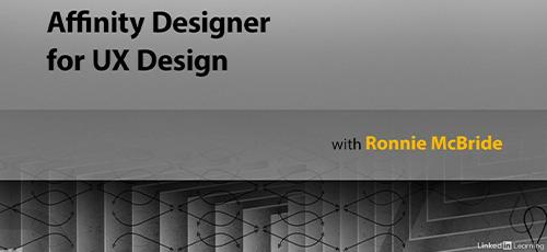 29 - دانلود Lynda Affinity Designer for UX Design (2020) آموزش افینیتی دیزاینر برای طراحی تجربه کاربری