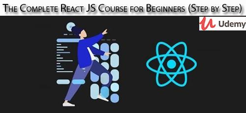 30 - دانلود Udemy The Complete React JS Course for Beginners (Step by Step) آموزش کامل مقدماتی گام به گام ری اکت جی اس
