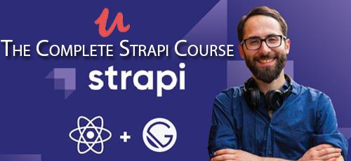 32 - دانلود Udemy The Complete Strapi Course آموزش کامل فریم ورک استرپی