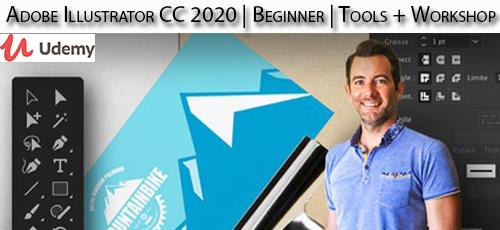 34 - دانلود Udemy Adobe Illustrator CC 2020 | Beginner | Tools + Workshop آموزش مقدماتی ابزار و کار با ادوبی ایلاستریتور سی سی 2020