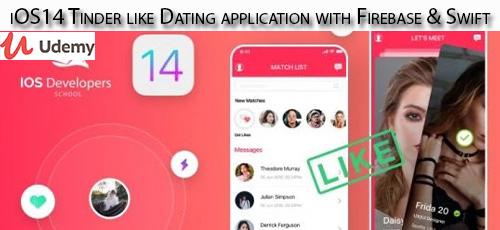 4 33 - دانلود Udemy iOS14 Tinder like Dating application with Firebase & Swift آموزش ساخت یک اپلیکیشن شبیه تیندر برای آی او اس 14 با فایربیس و سوئیفت