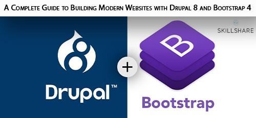 6 - دانلود Skillshare A Complete Guide to Building Modern Websites with Drupal 8 and Bootstrap 4 آموزش ساخت وب سایت های مدرن با دروپال 8 و بوت استرپ 4