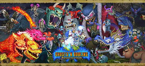 1 10 - دانلود بازی Ghosts 'n Goblins Resurrection برای PC