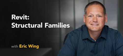 12 - دانلود Lynda Revit: Structural Families آموزش خانواده سازه در رویت