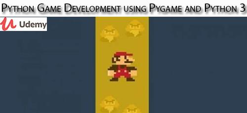 9 1 - دانلود Udemy Python Game Development using Pygame and Python 3 آموزش توسعه بازی پایتون با پای گیم و پایتون 3