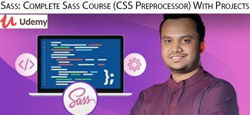 6 4 - دانلود Udemy Sass: Complete Sass Course (CSS Preprocessor) With Projects آموزش کامل ساس همراه با پروژه