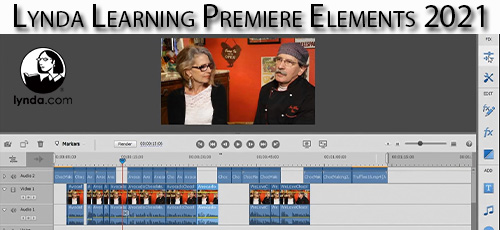 6 - دانلود Lynda Learning Premiere Elements 2021 آموزش نرم افزار پریمایر المنت 2021