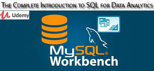 8 - دانلود Udemy The Complete Introduction to SQL for Data Analytics آموزش مقدماتی کامل اس کیو ال برای آنالیز داده ها